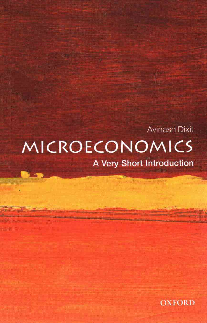Microeconomics By Dixit, Avinash