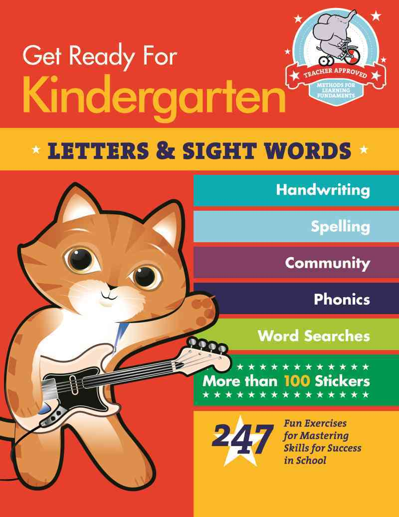 Get Ready for Kindergarten: Letters & Sight Words By Stella, Heather